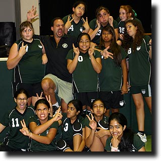 ASB middle school girls' volleyball 2008