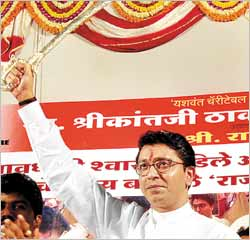 Raj Thackery raises the Sword of Maharastra!