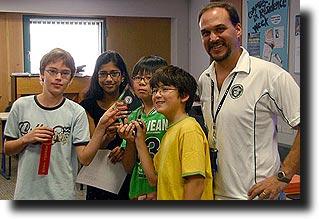 ASB Mathcounts Green Team