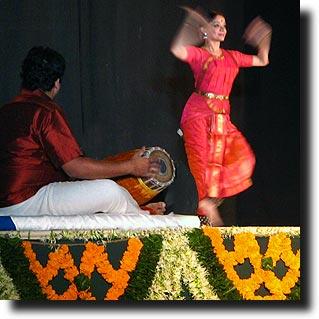 Malavika Dancing