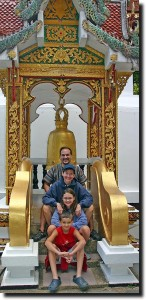 the Stutz family in Chiang Mai, Thailand