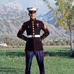 Young Marine in Utah