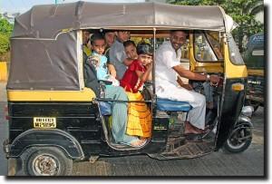 A full rickshaw!
