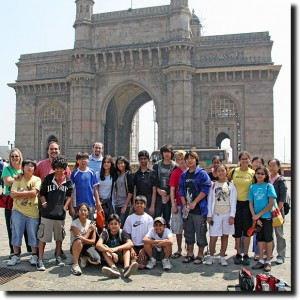 Math group at the Gateway of India