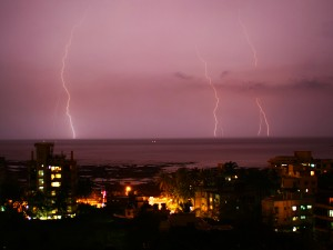 Lightning over Mumbai 1