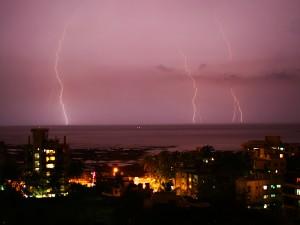 Lightning over Mumbai 1