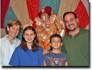Ganesh and Family