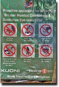 Cleanliness in Mumbai