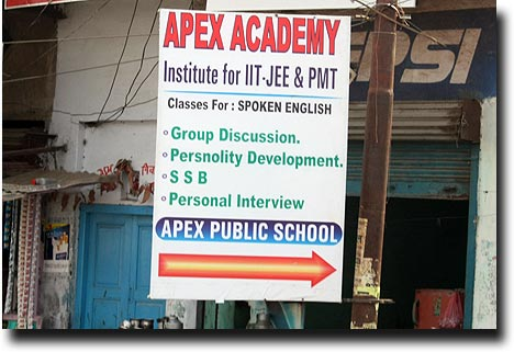 "At the top of the heap, the ""persnolity"" developing ApexAcademy"