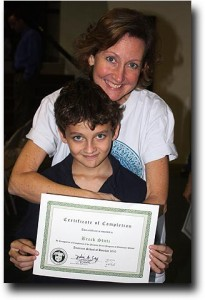 Breck and Susan at his 5th grade graduation