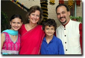 The Stutz's at Diwali 2010