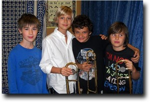 The Low Brass section