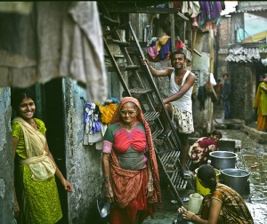 Dharavi - CC licensed from http://www.flickr.com/photos/lecercle/3833278858/