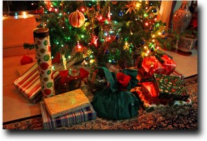 Presents under the tree!