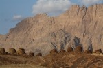 Ancient burial sites in the shadow of Oman's tallest mountain.