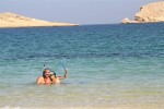 We spent many an hour snorkeling off Oman's pristine beaches.