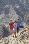 Hiking, hiking, and more hiking through the wadis and canyons!