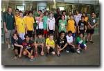 The 2011 ASB middle school boys' basketball team
