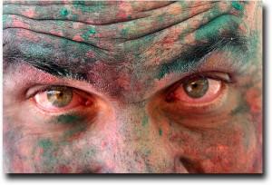 Dave's Holi eyes!