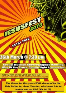 JesusFest 2010 Official Poster