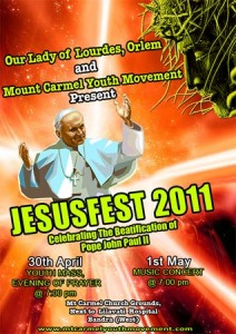 JesusFest 2011 Official Poster