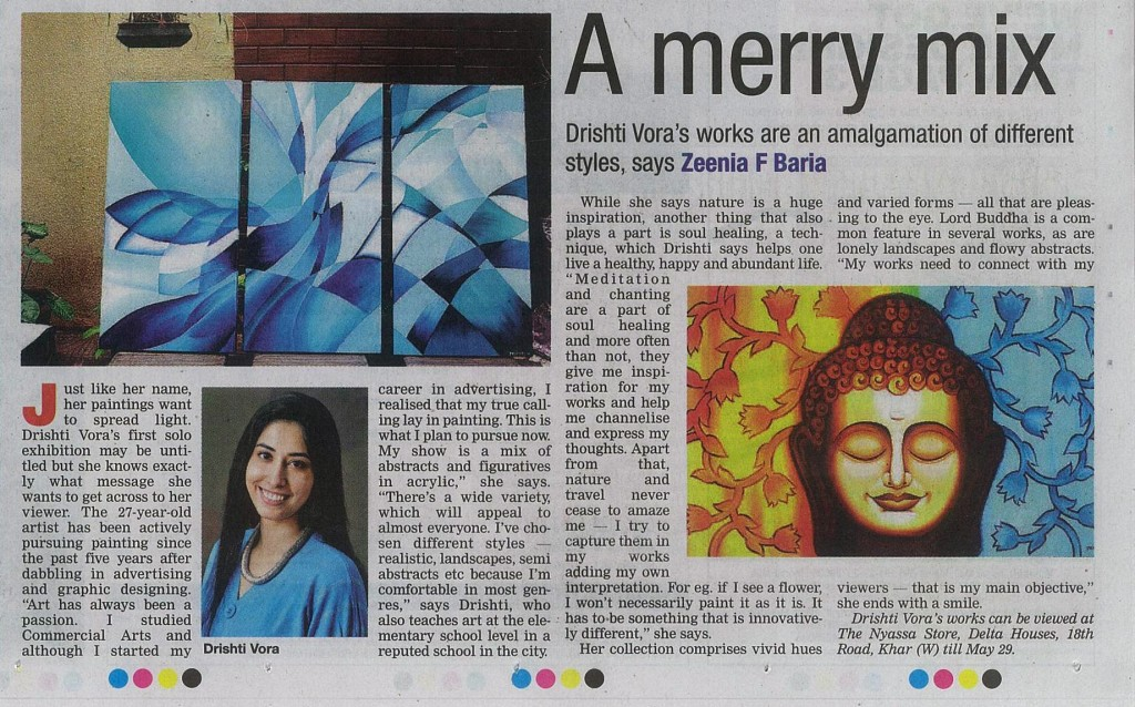 Drishti's article
