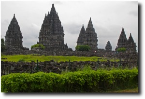 Overview of the Prambanan site