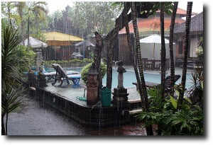 Raining on Nyepi