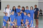 JIS MS girls' volleyball team