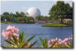 EPCOT over the water