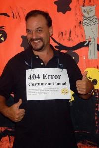 "Dave's Halloween ""costume"""