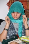 Alea wears scarves a lot, and always can use a new look for temple head coverings