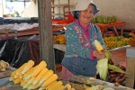 The corn lady was quite sweet and gave me a one-tooth smile