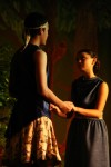 Lysander and Hermia pledge their love, and decide to run off to the forest.