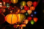 It is famous for the lights adorning the streets and shops.