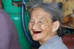 Betel-chewing grandma
