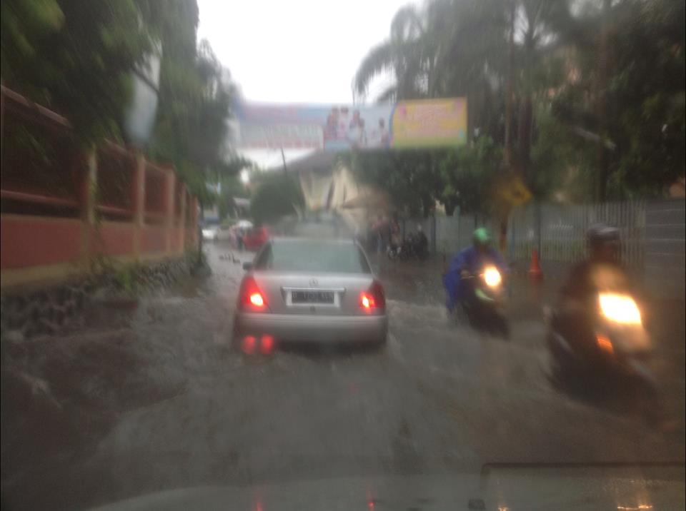 Rainy season in Jakarta