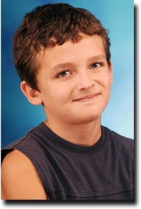 Breck's school picture from fifth grade