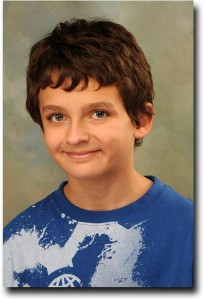 Breck's school picture from sixth grade