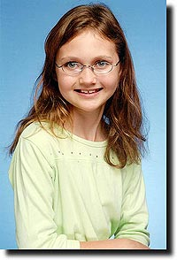Alea's school picture from fifth grade