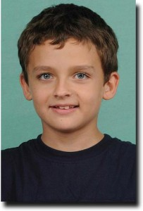 Breck's school picture from fourth grade