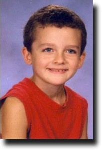Breck's school picture from second grade