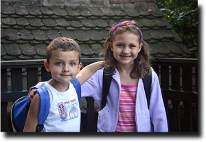 First day of school August 2004