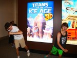 Breck and Boyd are pretty scared about running into the mammoths