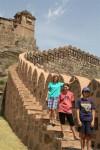 Climbing Kumbhalgarh