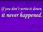 """Another Tom Clancy quote, this one to encourage """"showing your work"""""""