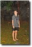 Alea enjoying a warm rainfall