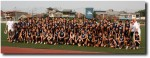 Where's Breck in the team photo (hint - he is really there!)