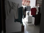 Maid's quarters - 3 rooms worth of space that are mostly used for laundry since our house help does not live with us