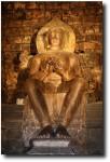 Buddha (with both feet on the ground - unusual)